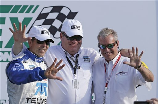 Scott Pruett, Chip Ganassi, Hurley Haywood