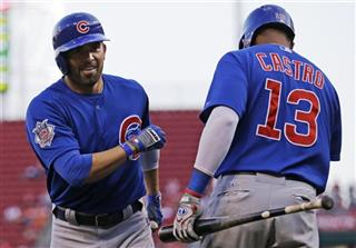 David DeJesus, Starlin Castro