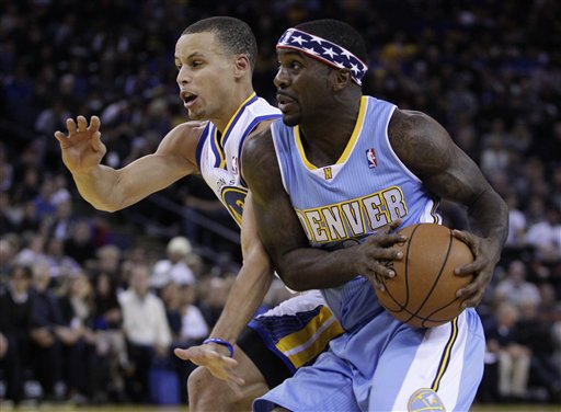 Ty Lawson, Stephen Curry