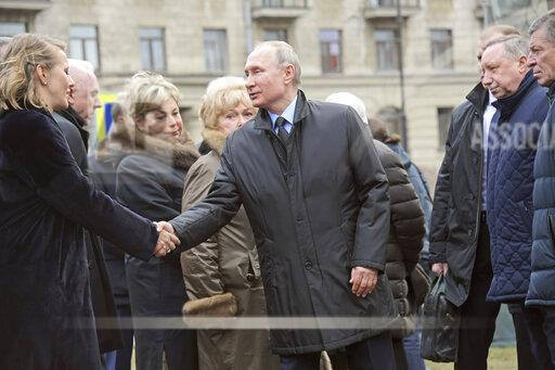 Vladimir Putin's working visit to Saint Petersburg.
