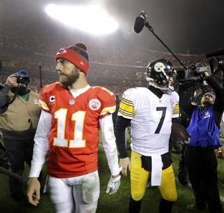 Alex Smith, Ben Roethlisberger
