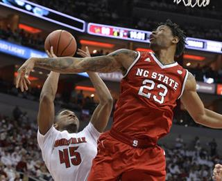 NC State Louisville Basketball