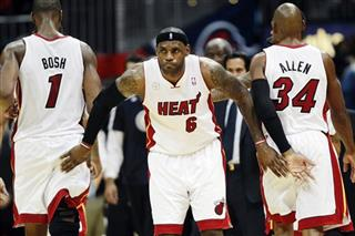 LeBron James, Chris Bosh, Ray Allen