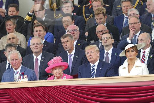 D-Day 75th Anniversary in Portsmouth, UK - 6/5/19