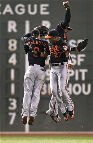 Nate McLouth, Endy Chavez, Adam Jones