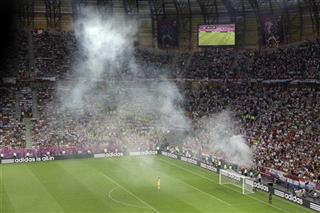 Soccer Euro 2012 Croatia Spain