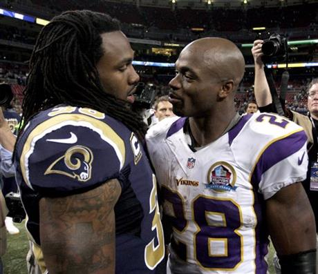 Adrian Peterson, Steven Jackson