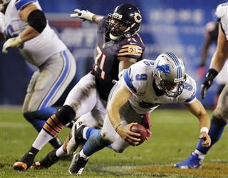 Matthew Stafford, Israel Idonije