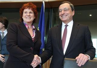 Mario Draghi, Sharon Bowles