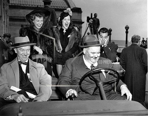 Associated Press Domestic News Dist. of Columbia United States Entertainment, celebrities LAUREL HARDY ARNAZ POWELL
