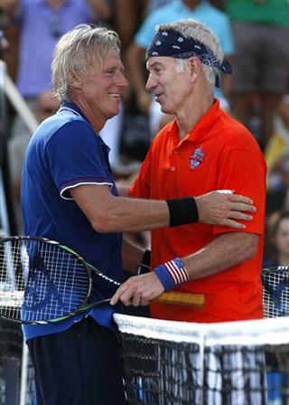 Bjorn Borg, John McEnroe