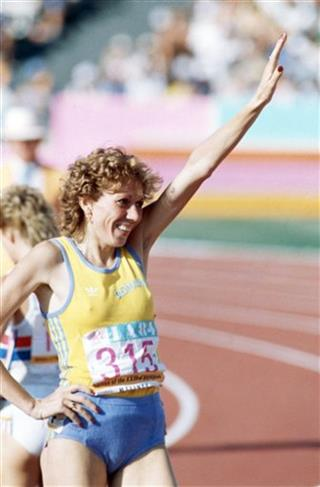 LA Olympics 800M