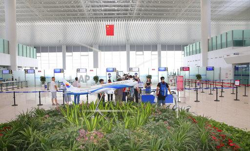 CHINA CHINESE JIANGSU NANTONG INTERNATIONAL AIRPORT TERMINAL