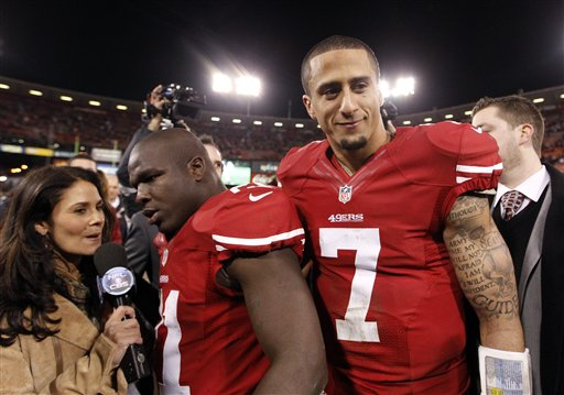Frank Gore, Colin Kaepernick