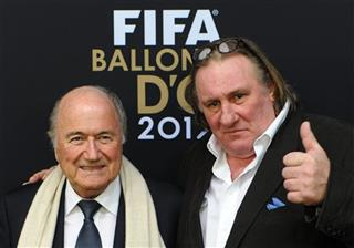 Switzerland Soccer FIFA Depardieu