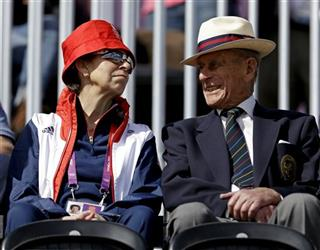 Princess Anne, Prince Phillip