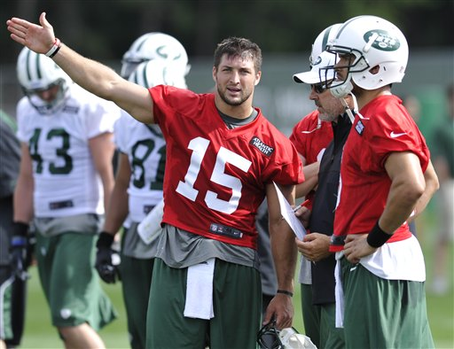 Tim Tebow, Matt Cavanaugh, Mark Sanchez