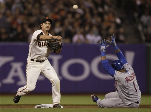 Ryan Theriot, Jordany Valdespin