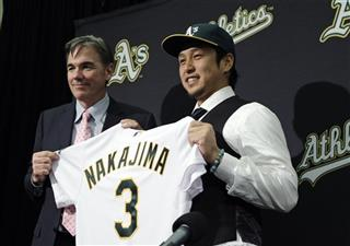 Athletics Nakajima Baseball