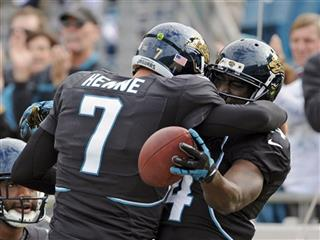Chad Henne, Justin Blackmon