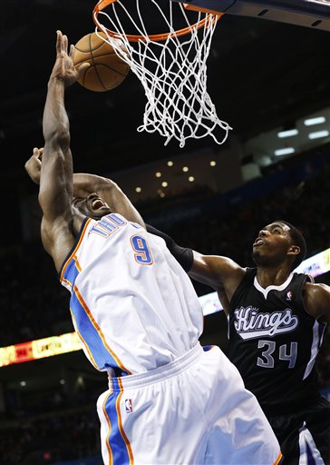 Serge Ibaka, Jason Thompson