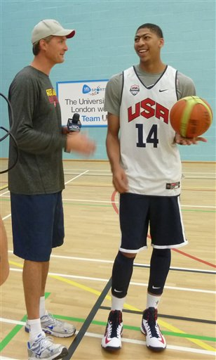 London Olympics Basketball Men US Star to Sub