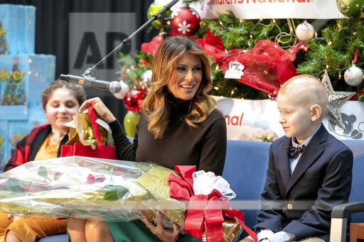 "DC: Melania Trump signs ""Oliver The Ornament Meets Belle"" book"