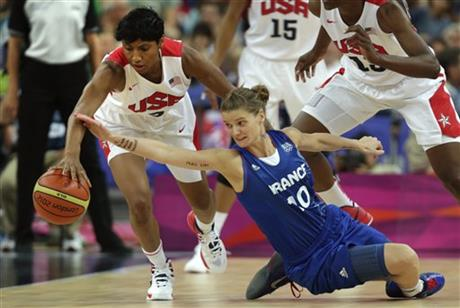 Angel McCoughtry, Florence Lepron,