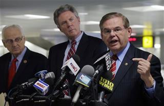 Robert Menendez, Frank Pallone,  Bill Pascrell