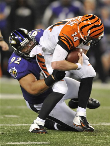 Haloti Ngata, Andy Dalton