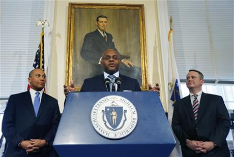 "William ""Mo"" Cowan, Deval Patrick, Tim Murray"