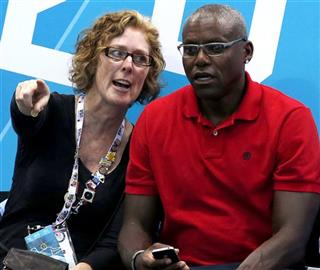 Carl Lewis, Susan Sarandon