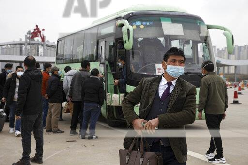 Virus Outbreak China Back to Work