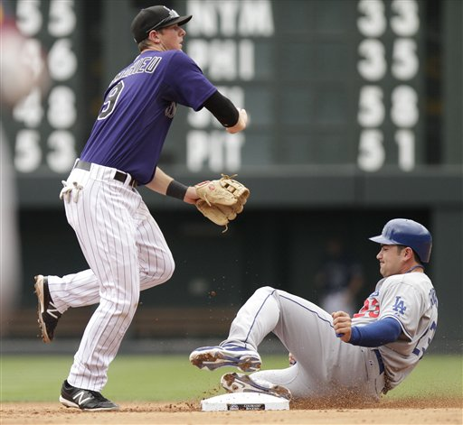 DJ LeMahieu, Adrian Gonzalez