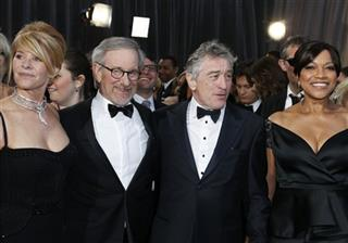 Kate Capshaw;Steven Spielberg;Robert De Niro;Grace Hightower