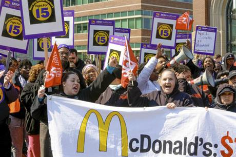 McDonalds Protests