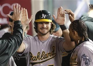 John Jaso,  Coco Crisp