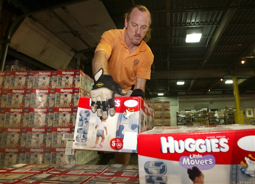 Huggies Camo for a Cause