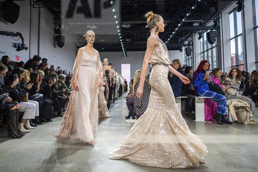 NYFW Fall/Winter 2020 - Badgley Mischka