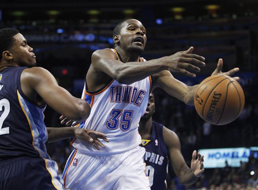 Rudy Gay, Kevin Durant