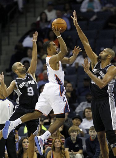 Ramon Sessions, Tony Parker, Tim Duncan