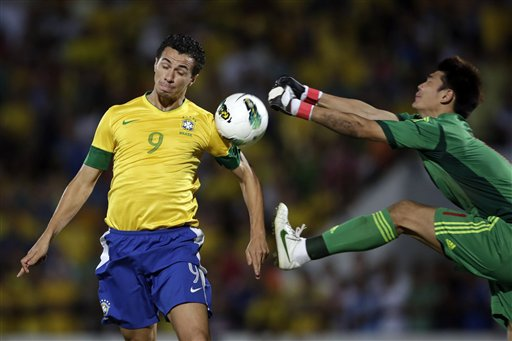 Brazil China Soccer