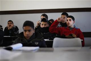 Mideast Israel Palestinians Textbook Battle