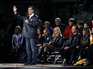 Mitt Romney, Derek Parra, Ann Romney