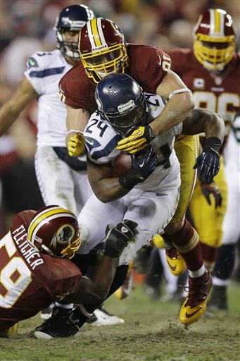 Marshawn Lynch, London Fletcher, Ryan Kerrigan