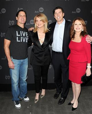 Mark Cuban, Arianna Huffington, Tim Armstrong and Marlo Thomas