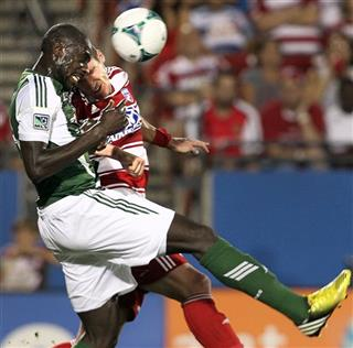 APTOPIX MLS Timbers FC Dallas Soccer