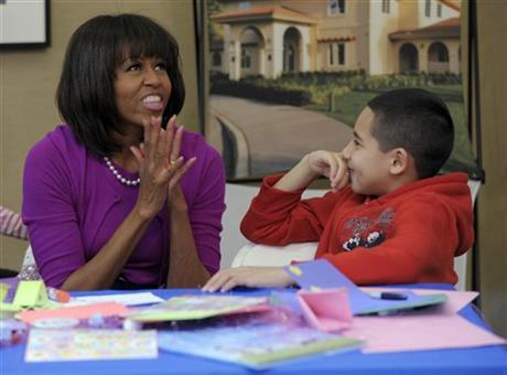 Michelle Obama, Jorge Ortiz