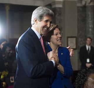 Elizabeth Warren, John Kerry
