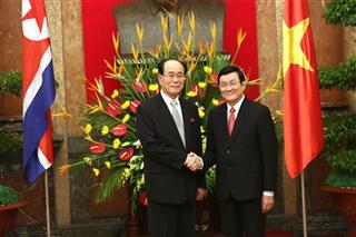 Kim Yong Nam, Truong Tan Sang